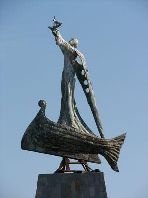 Nessebar Iron Lady Statue