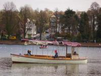 Boating on Roath Lake