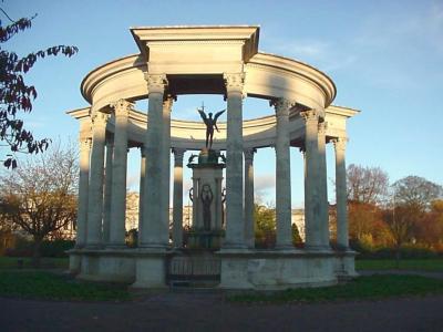 Cenotaph in Alexandra Gardens