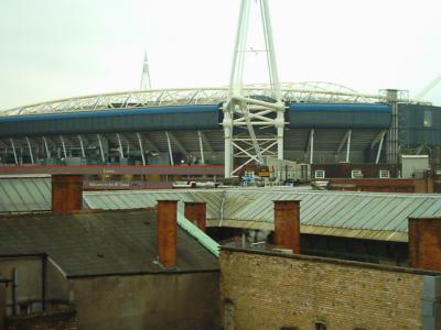 Stadium View from Lounge