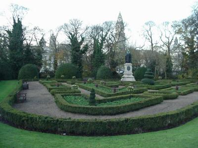 Formal Gardens in Cathays