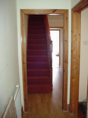 Clean Hallway with Laminate Floor for Easy Cleaning