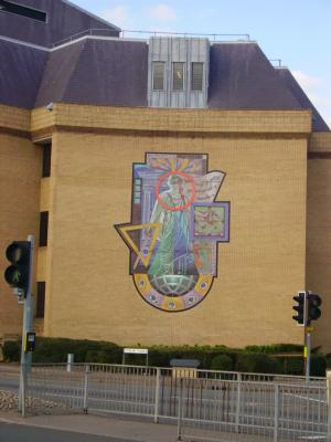 Magistrates Court Mural Adamsdown
