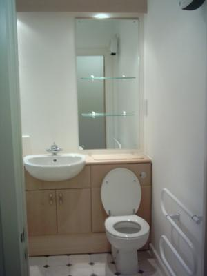 Bathroom with Toliet and Basin