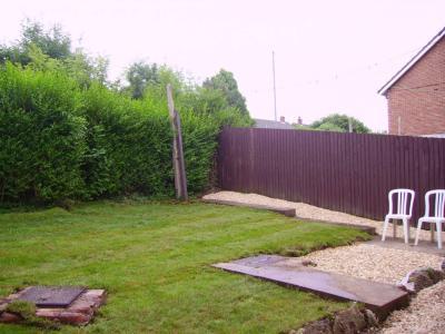 Pleasant Garden with Washing Line