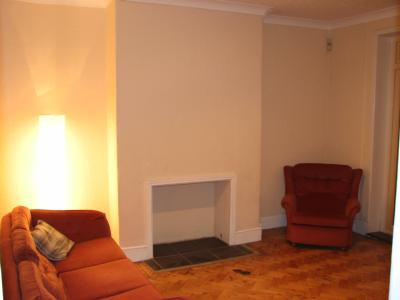 View of Lounge with Alcove