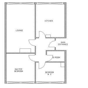 Floor Plan of Flat