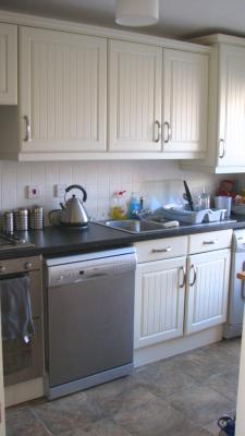 L- shaped layout of Kitchen