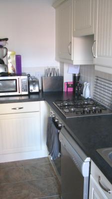 Good utilisation of Kitchen Area