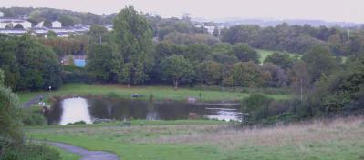 Wern Goch Park and Lake